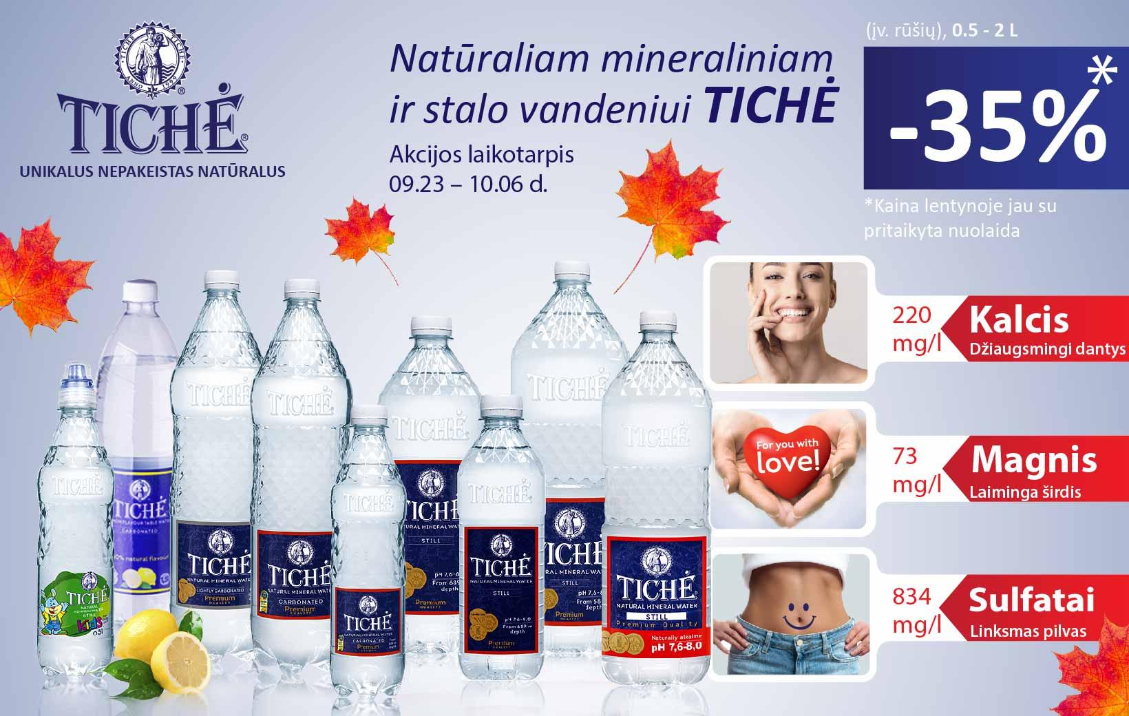 TICHĖ akcija
