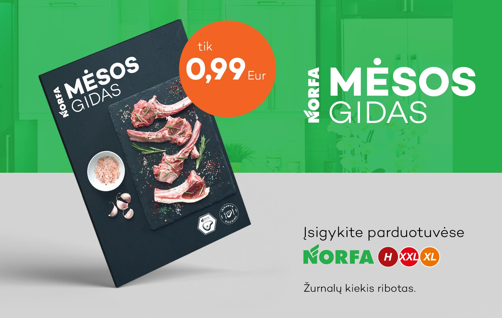 Mėsos gido žurnalas jau prekyboje