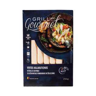 Virtos kalak. dešrelės su džiov. pomidorais ir žol. Grill Gourmet, 210 g