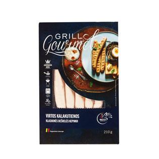 Virtos kalakutienos klasik. dešrelės Grill Gourmet, 210 g/pak.