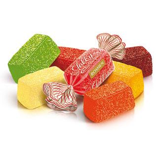 Sveriami saldainiai JELLY, 1 kg