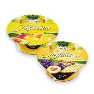 Kreminis jogurtas PIENO ROJUS (2 rūšių), 150 g