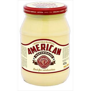 KĖDAINIŲ KONSERVŲ AMERIKIETIŠKAS majonezas, 420 g