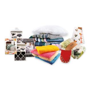 Patalynei, paklodėms, lovatiesėms, puodkelėms ir jų rinkiniams