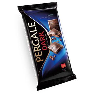 Juodasis šokoladas PERGALĖ DARK, 100 g