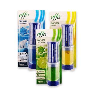 Tualetų valymo gelis EFFA (3 rūšių), 45 ml/pak.