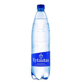 Natūralus gazuotas mineralinis vanduo VYTAUTAS, 1 l