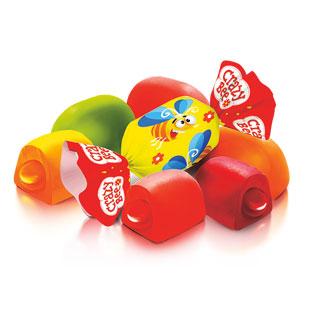 Sveriami saldainiai CRAZY BEE FRUTTY, 1 kg