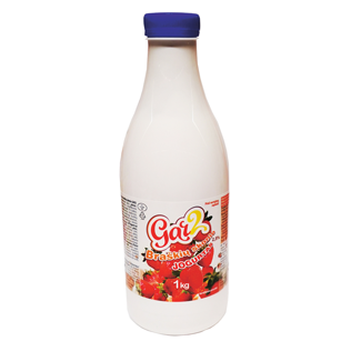 Geriamasis jogurtas GAR2 braškių skonio 2,5% rieb., 1 kg