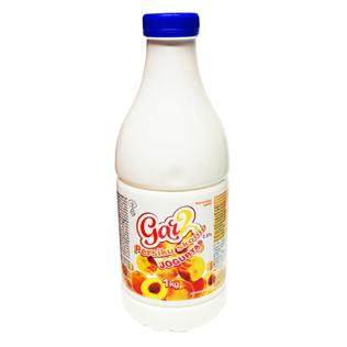 Geriamasis jogurtas GAR2 persikų skonio 2,5% rieb., 1 kg
