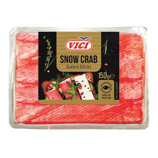 Atšaldytos snieginių krabų skonio lazdelės VIČI, 150 g