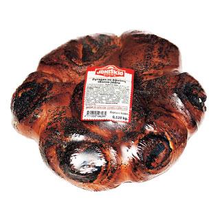 Pyragas su aguonų skonio įdaru, 520 g