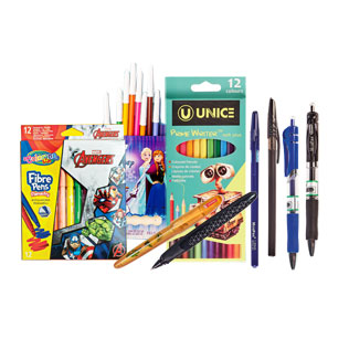 Rašikliams, tušinukams, pieštukams ir flomasteriams