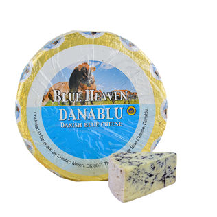 Mėlynojo pelėsio sūris DANABLU BLUE HEAVEN 50% rieb., 1 kg